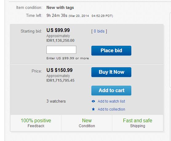 lelang di ebay